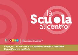 Logo scuola al centro