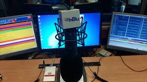 immagine radio in blu