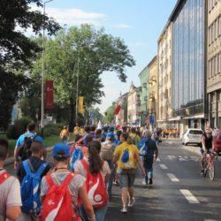 GMG di Cracovia, vi racconto l'esperienza della Via Crucis