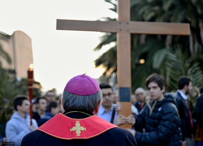 Via Crucis a Fuorigrotta - Photogallery