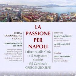 Convegno Ucsi a Napoli sui discorsi alla città e il magistero sociale del Cardinale Sepe