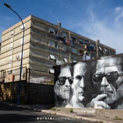 """Monterusciello, un quartiere a colori. Il Progetto PerificArt di """"DiversaMenteGiovani"""" coinvolge writers e abitanti"""