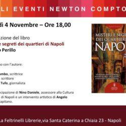 """Alla Feltrinelli il nuovo libro di Marco Perillo, """"Misteri e segreti dei quartieri di Napoli"""""""