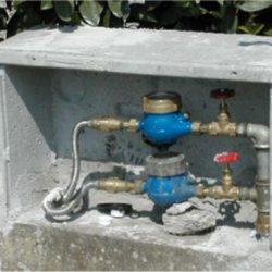 Misure per proteggere i contatori dell'acqua durante l'ondata di gelo