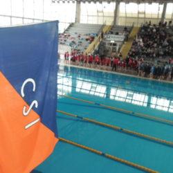 Nella piscina di Monterusciello, oltre 400 giovani atleti per il campionato regionale di nuoto del Csi