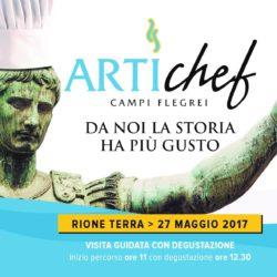 ARTIchef Campi Flegrei, venerdì 19 maggio conferenza stampa di presentazione