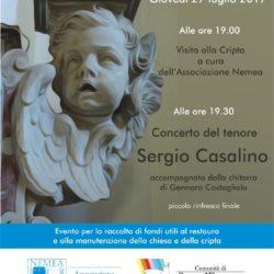 Concerto di musica sacra nella Chiesa della Purificazione a Pozzuoli, giovedì 27 luglio