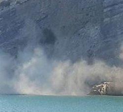 Monte di Procida: frana un costone tufaceo in località Acquamorta