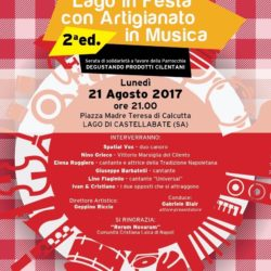 """Nella frazione Lago di Castellabate, seconda edizione di """"Artigianato in Musica degustando i prodotti tipici cilentani"""""""