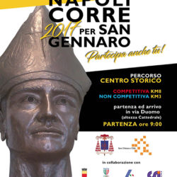 Nel centro storico Napoli corre per San Gennaro, domenica 17 settembre con il cardinale Sepe