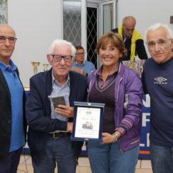 Durante l'annuale meeting del Csi di Pozzuoli, festeggiati i novant'anni di Nunzio Materazzo