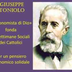 Concorso sulla figura e le idee di Giuseppe Toniolo, promosso dalla Fondazione a lui dedicata