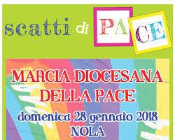 Scatti di Pace a Nola per la Marcia diocesana della pace, domenica 28 gennaio
