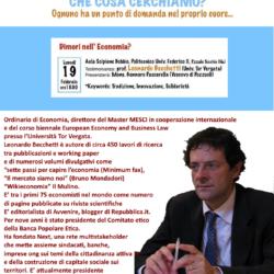 """Incontro sul tema """"Divulgare la Parola di Dio nell'Economia"""" nel Politecnico a Napoli"""