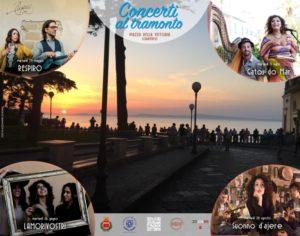 """Martedì 28 agosto, a Sorrento si conclude la rassegna """"Concerti al ..."""