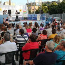 Serata di fraternità organizzata da Santa Maria del Buon Consiglio di Cappella a Bacoli. La parrocchia prega in piazza