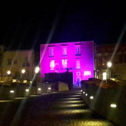 Campagna nazionale di prevenzione dei tumori del seno: per tre giorni il Rione Terra illuminato di rosa