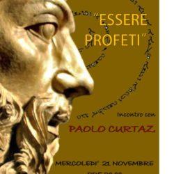 Lo scrittore e teologo Paolo Curtaz nella chiesa Buon Pastore a Napoli, mercoledì 21 novembre
