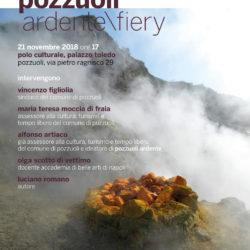 """""""Pozzuoli Ardente"""", presentazione del libro di Luciano Romano nel Palazzo Toledo a Pozzuoli"""