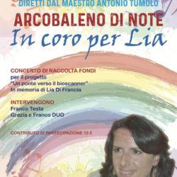 Concerto di musica Unbreakable Studio per sostenere il progetto dello Bioscanner in memoria di Lia Di Francia