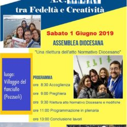 Assemblea diocesana dell'Azione Cattolica, sabato 1 giugno. Confronto e programmazione