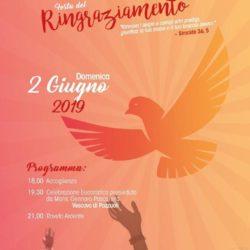 Festa del Ringraziamento del Rinnovamento nello Spirito Santo a Monterusciello, domenica 2 giugno