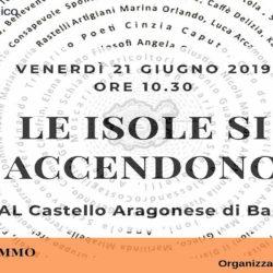 """Al Castello Aragonese di Baia, XVI edizione de """"Le isole (le persone) si accendono"""", curata da Mimmo Grasso"""