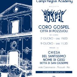 A Pozzuoli due appuntamenti con il Coro Gospel nella chiesa San Giuseppe, domenica 2 e 9 giugno