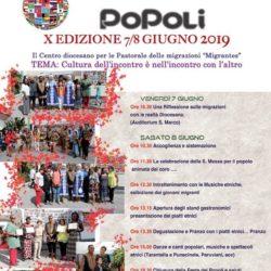 Festival dei Popoli nel Centro San Marco a Pozzuoli, organizzato dalla Migrantes