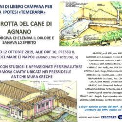 """La Grotta del Cane di Agnano """"fonte sorgiva che sanava lo spirito"""", incontro sabato 12 ottobre nel Museo del Mare a Napoli"""