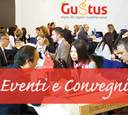 Nella Mostra d'Oltremare di Napoli la sesta edizione della manifestazione Gustus 2019