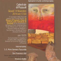 """Il pittore Vincenzo Aulitto dona un quadro al Museo diocesano di Pozzuoli, """"Il mio riflesso in te"""""""
