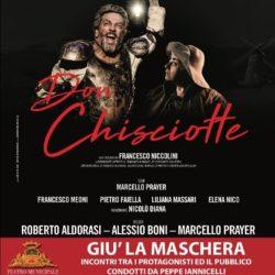 Don Chisciotte al Teatro Verdi di Salerno. Sabato 8 febbraio, incontro con gli attori Alessio Boni e Serra Yilmaz