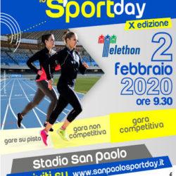 Una storia lunga dieci anni. Domenica 2 febbraio torna a Napoli il San Paolo Sport Day